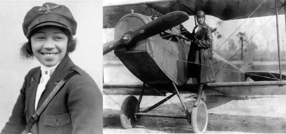 Bessie Coleman, the First African American to Fly an Airplane